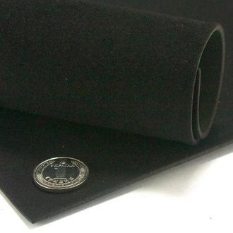 Фоамиран бархатный, без к/о, 2мм. 20*30 см