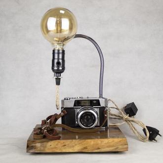 Настольная лампа PRIDE&JOY с винтажным фотоаппаратом