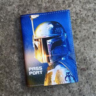 Обложка на паспорт с Boba Fett