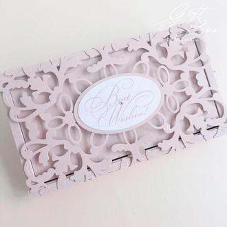 "Gift Box ""Afrodita"" Цвет 5 (нуд) - открытка в коробочке"