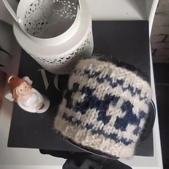 Чехол на чашку, грелка на чашку, теплушка на чашку