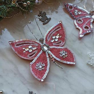 Елочное украшение Бабочка