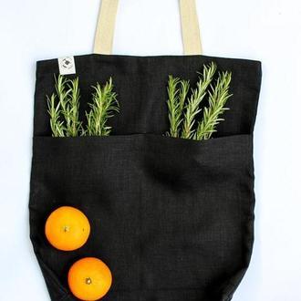 Эко-сумка из оршанского льна