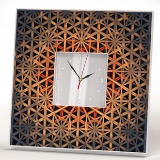 """Интерьерные часы в современном дизайне """"Абстракция. Узоры"""""""