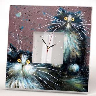 """Часы для дома """"Забавные коты"""""""