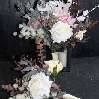 Свадебный букет для невесты и свидетельницы набор