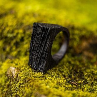 Деревянный перстень