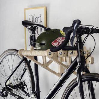 Велополка. Крепление полка настенное хранение для велосипеда