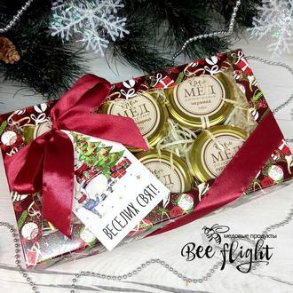 Новогодние наборы с медовыми сладостями