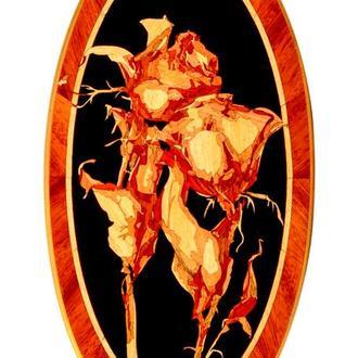 Мозаичное панно. Две розы