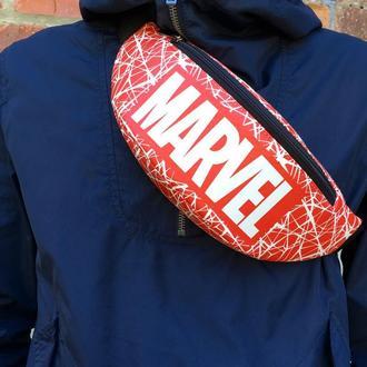 Бананка, сумка на пояс MARVEL, поясная сумка