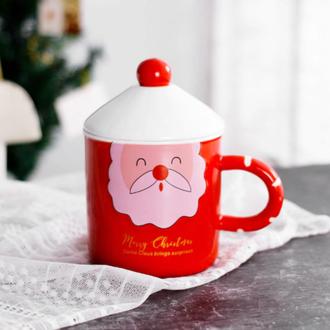 Новогодняя чашка Санта