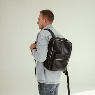 Городской кожаный рюкзак, мужской рюкзак из натуральной кожи