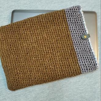 Чехол для ноутбука Вязание