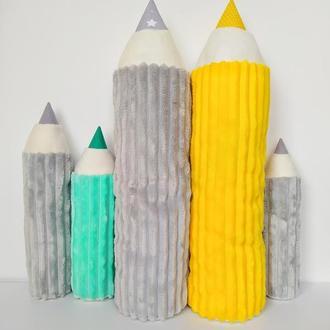 Подушка карандаш | подушка карандаш | мягкая игрушка | игрушка в кроватку