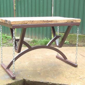 Стол без ног. Журнальный столик. Кофейный столик.