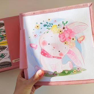 Кукольный домик | развивающая книжка | мягкая книга | игрушки из фетра