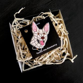 Брошь по фото животные Собаки, Кота, Кролика, Попугаи, Шиншиллы. Портретный кулон Вашего любимца