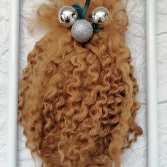 Трессы для кукол натуральные Волосы для кукол Козий пух