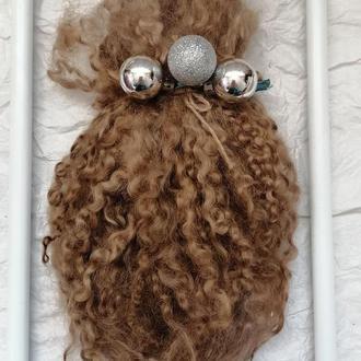 Трессы для кукол Волосы для кукол Козий пух Локоны овцы