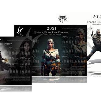 "Календарь ""Ведьмак"" 2021"