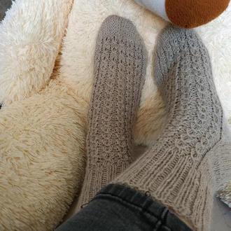 Женские вязанные носки
