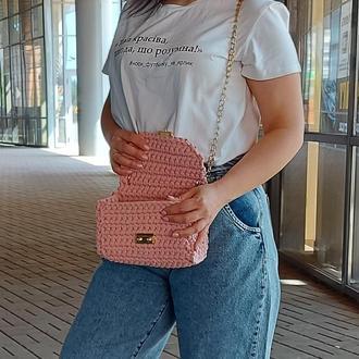 Маленькая сумочка через плечо Petite, цвет Розовая пудра