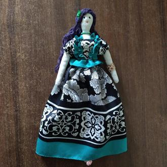 """Кукла """"Беатриса"""" в стиле тильда, текстильная, интерьерная"""
