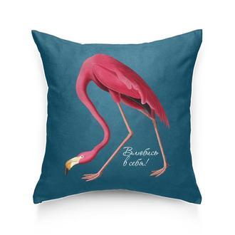 Подушка Фламинго