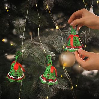 прикраси на ялинку, новорічний декор