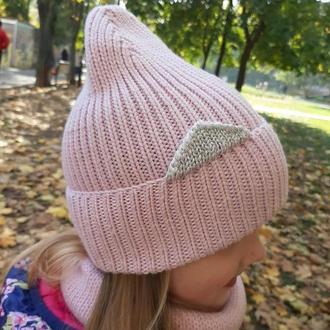 Детская шапочка, снуд, комплект