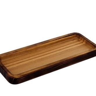 Деревянная посуда для подачи- менажница
