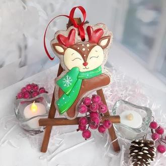 рождественские пряники купить, пряники на новый год, пряники 2021 украина заказать