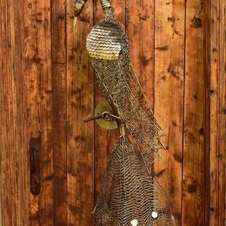 скульптура жарптицы,птицы феникс