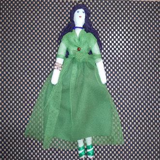 """Кукла """"Гера"""" в стиле тильда, текстильная, интерьерная"""