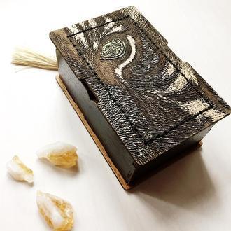 Подарочная коробка для хранения карт Таро. Коробка из дерева