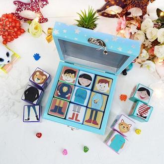 """Набор подарочный кубики """"DetkaOk gift box"""""""