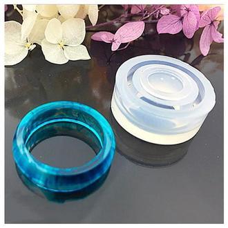 Молд силиконовый для кольца 20 мм