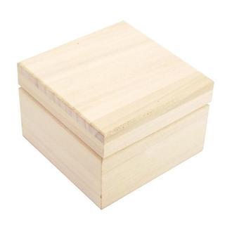 Скринька 6,5х6,5х4,5 см, сосна