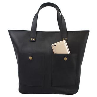 Женская сумка из натуральной кожи. 07006/черный