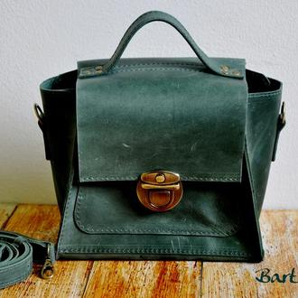 "Кожаная сумочка ""Виктори"""