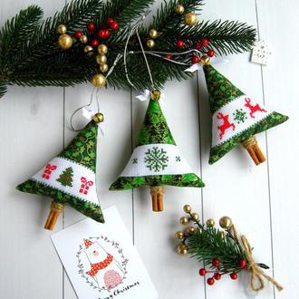 Набір ялинкових іграшок, подарунок на Новий рік, Новорічний сувенір
