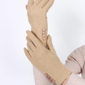 Перчатки бамбуковые сенсорные женские