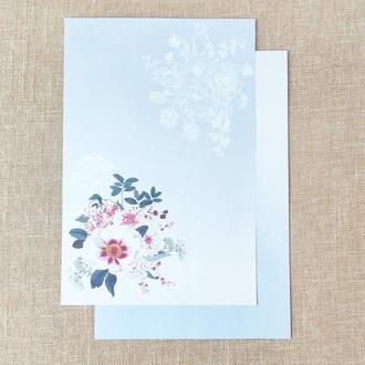 Дизайнерская бумага для скрапбукинга. Двусторонняя А4. 1 шт