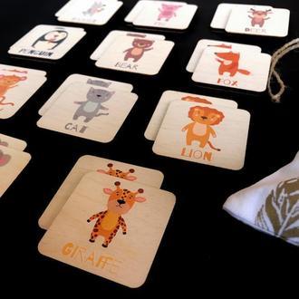 Персонализировання мемори-игра для малышей