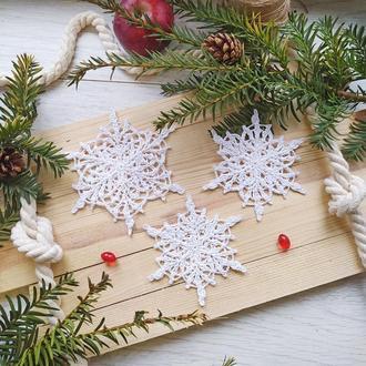Красивые Снежинки -комплект из 3