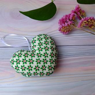 Сердечко валентинка, сердечко підвіска, игольниц