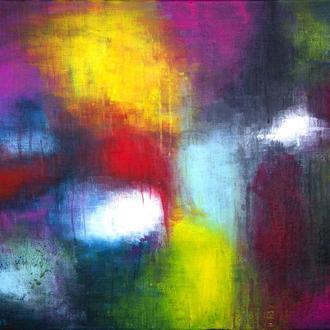 Картина абстракция 50Х70 холст, акрил