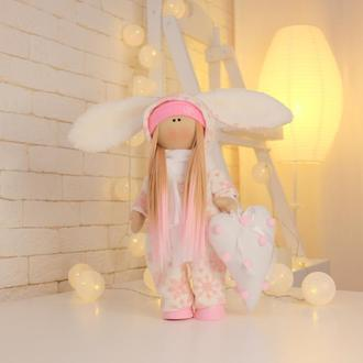 Новогодняя Кукла Зайка 2021
