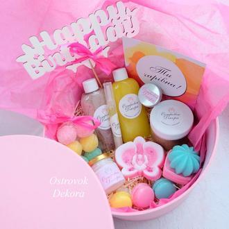 """Подарочный набор """" Exotic box"""" , подарок для девушки,  сестры, жены,  на день рождения"""